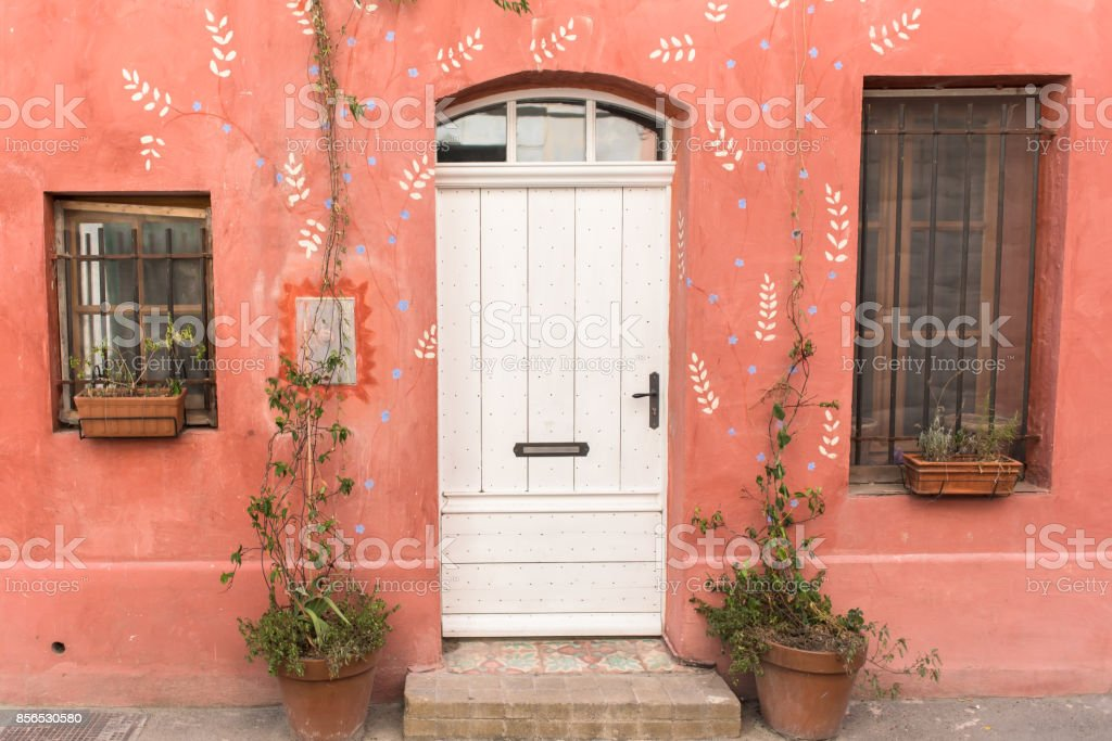 Arles in the south of France stock photo