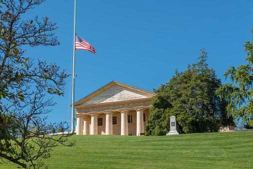Arlington House, Arlington National Cemetery, Arlington, Virginia