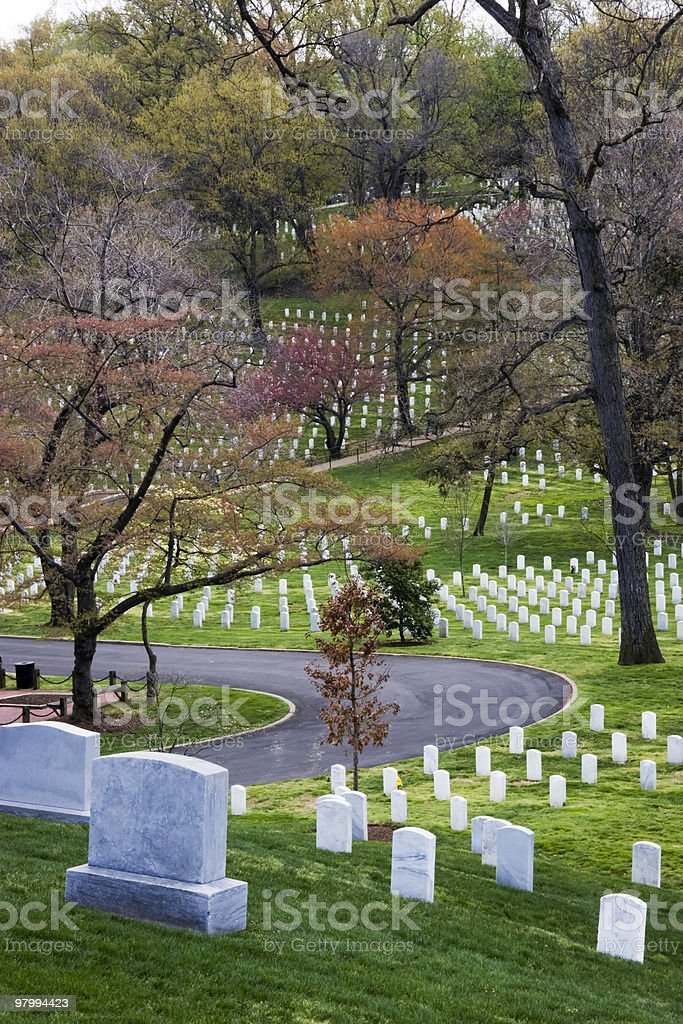 Arlington National Cemetary royalty-free stock photo
