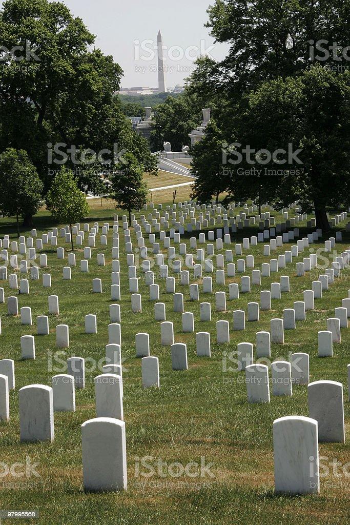 Arlington National Cemetary royalty-free stock photo