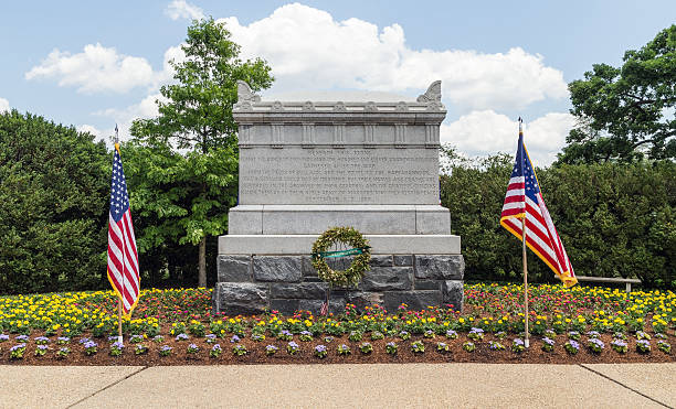 arlington national cemetery - civil war unknowns monument - arlington national cemetery stock pictures, royalty-free photos & images