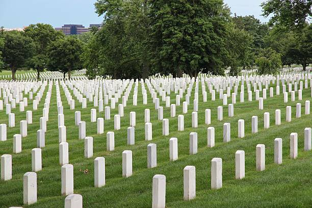 arlington national cemetery - arlington national cemetery stock pictures, royalty-free photos & images