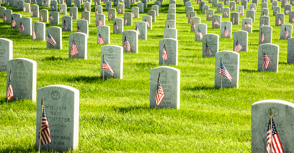 Arlington National Cemetery Stock Photo - Download Image Now