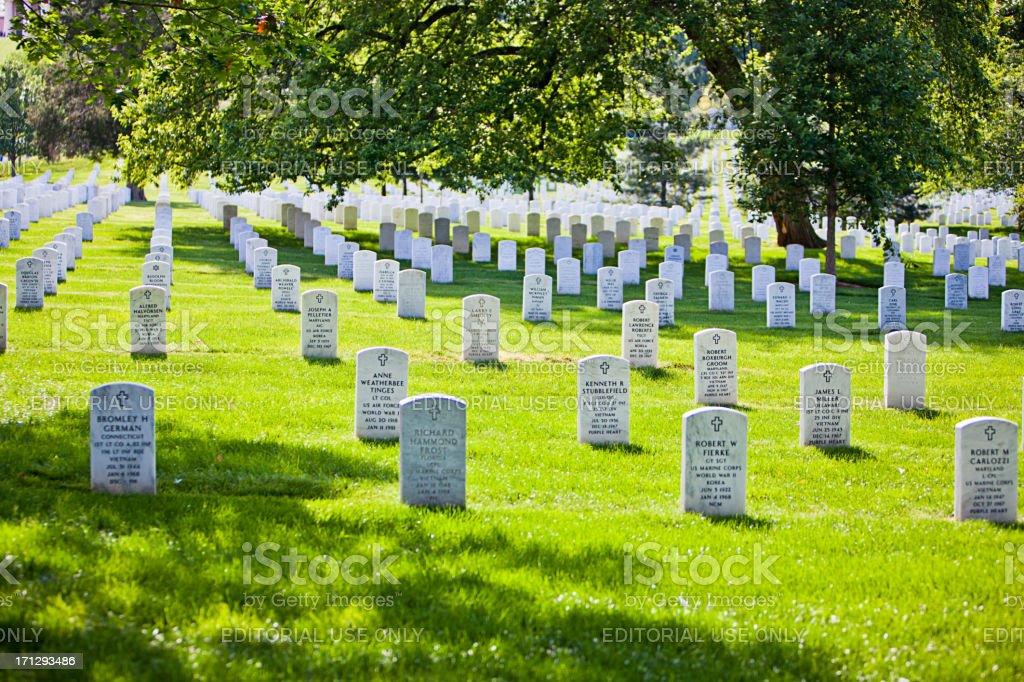 Arlington National Cemetery, USA royalty-free stock photo