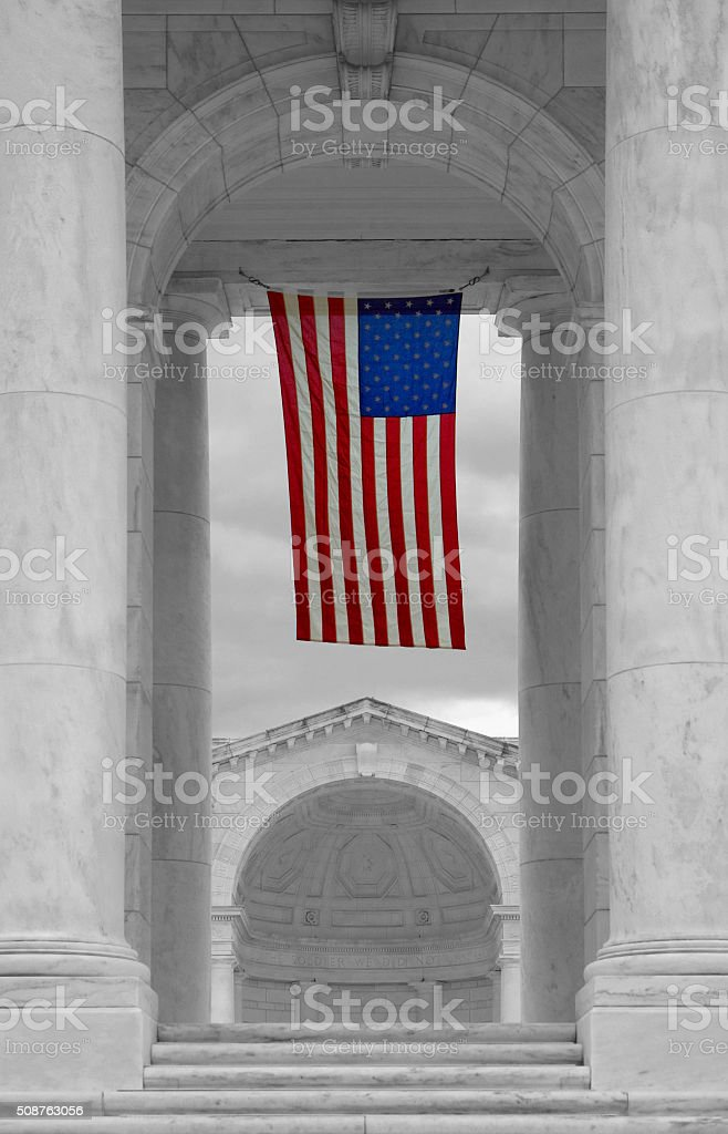 Arlington National Cemetery, VA stock photo