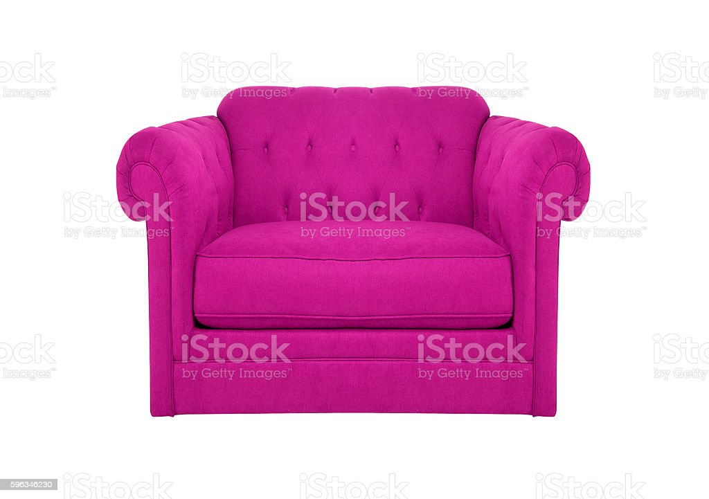 Arm chair isolated royalty-free stock photo
