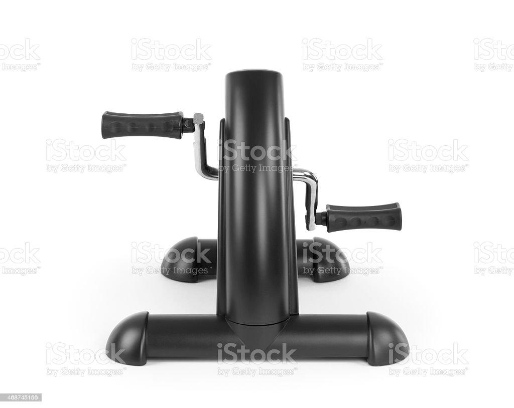 Arm Exercise Machine Isolated on White stock photo