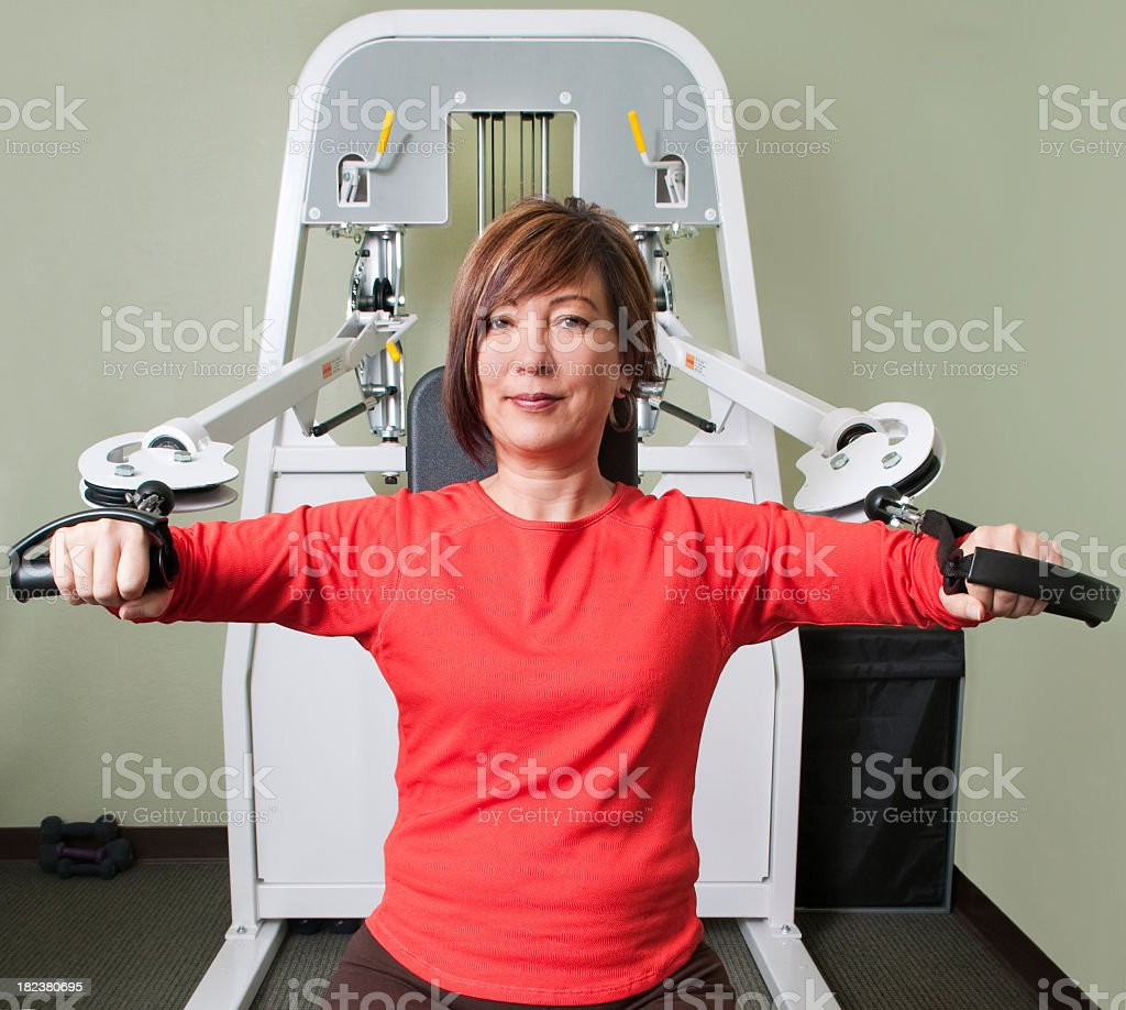 Arm Exercise Machine - Physical Therapy Series royalty-free stock photo