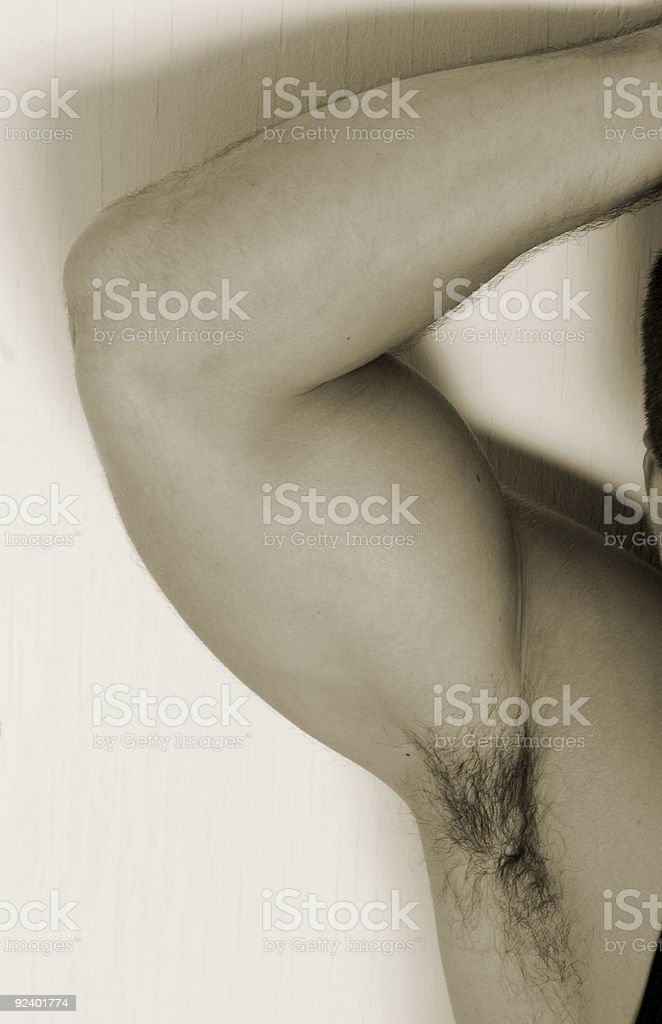 arm pit stock photo