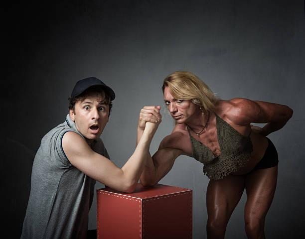 arm wrestling concept - armdrücken stock-fotos und bilder