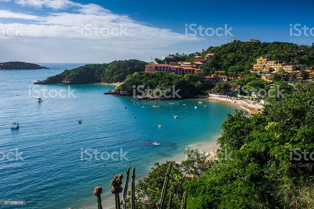Armacao dos Buzios near Rio de Janeiro, Brazil stock photo