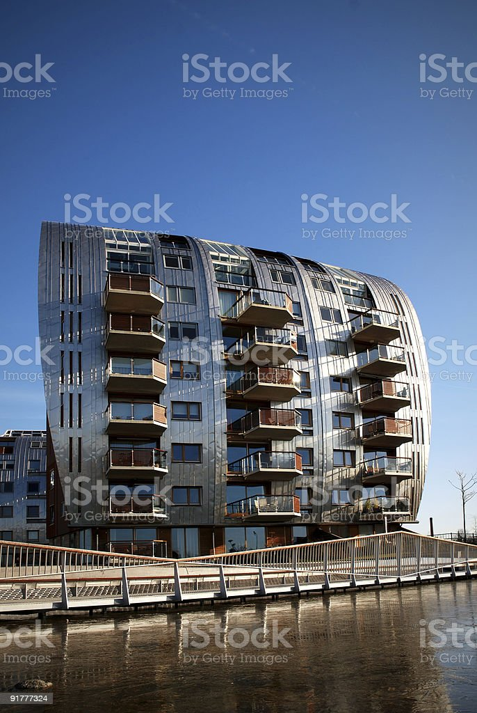 Armada : modern Architecture in the Netherlands royalty-free stock photo