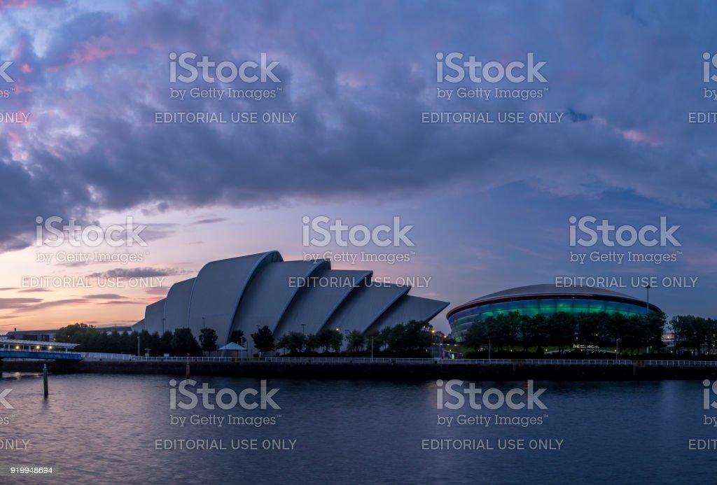 SEC Armadillo and the SSE Hydro, Glasgow - foto stock