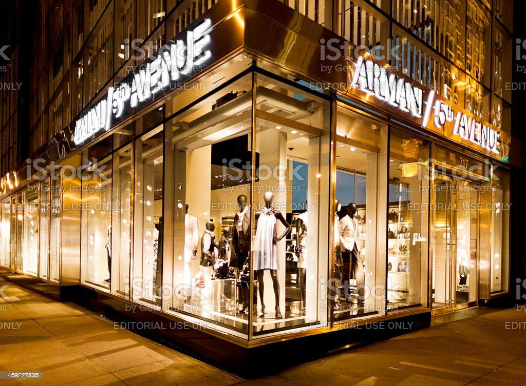 Armani Magasins De La Cinquième Avenue à New York – Photos et plus d ... b763ec0e9c4f