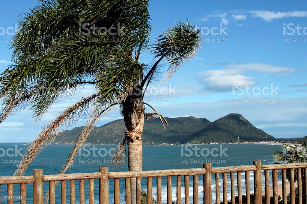 Armação beach stock photo