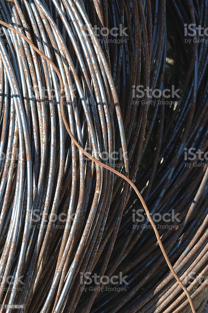 Armature wire royalty-free stock photo