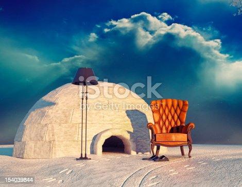 istock armchair and igloo 154039844