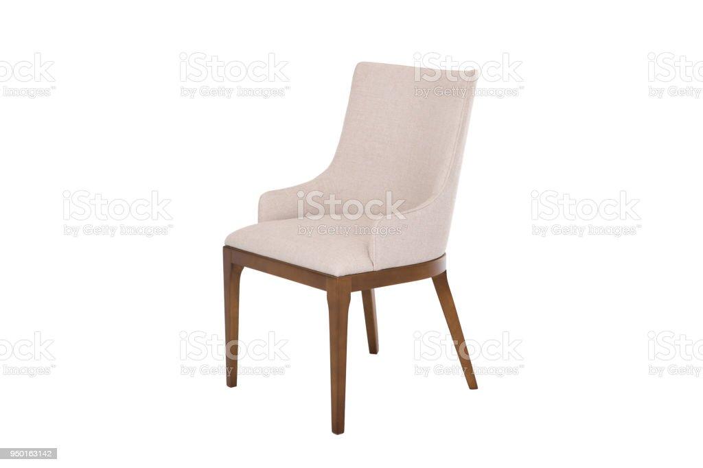 Fauteuil moderne design stoel op witte achtergrond textuur stoel