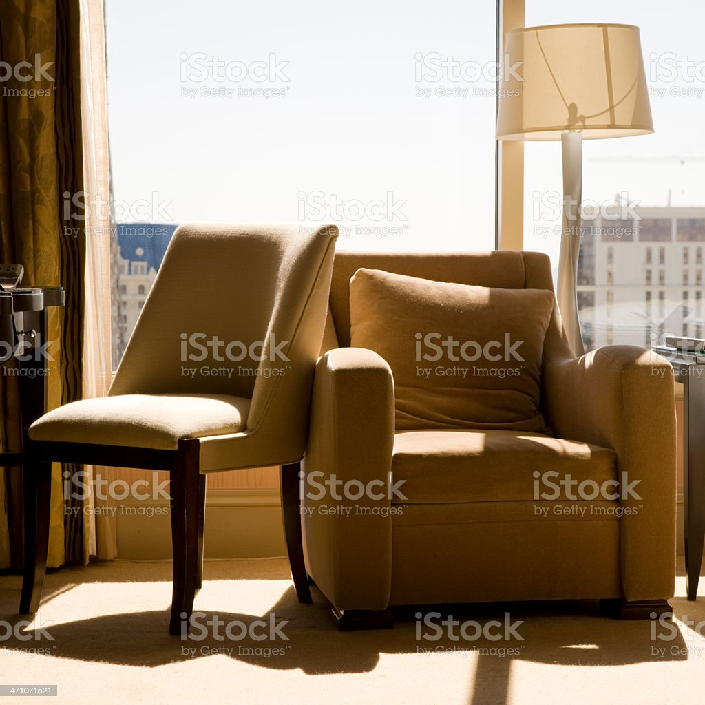 Armchairs Furniture royalty-free stock photo