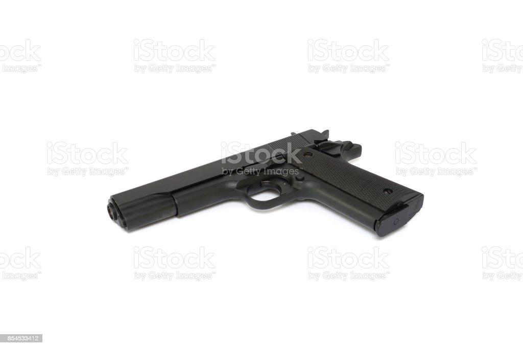 Arme à feu stock photo