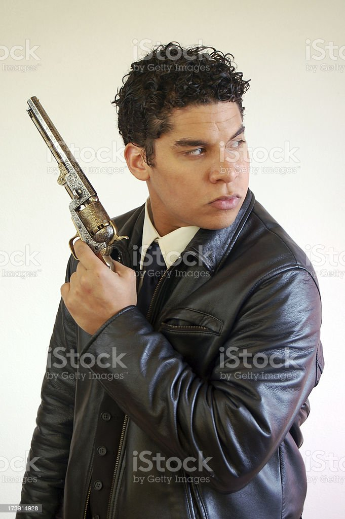 Armed and Dangerous stock photo