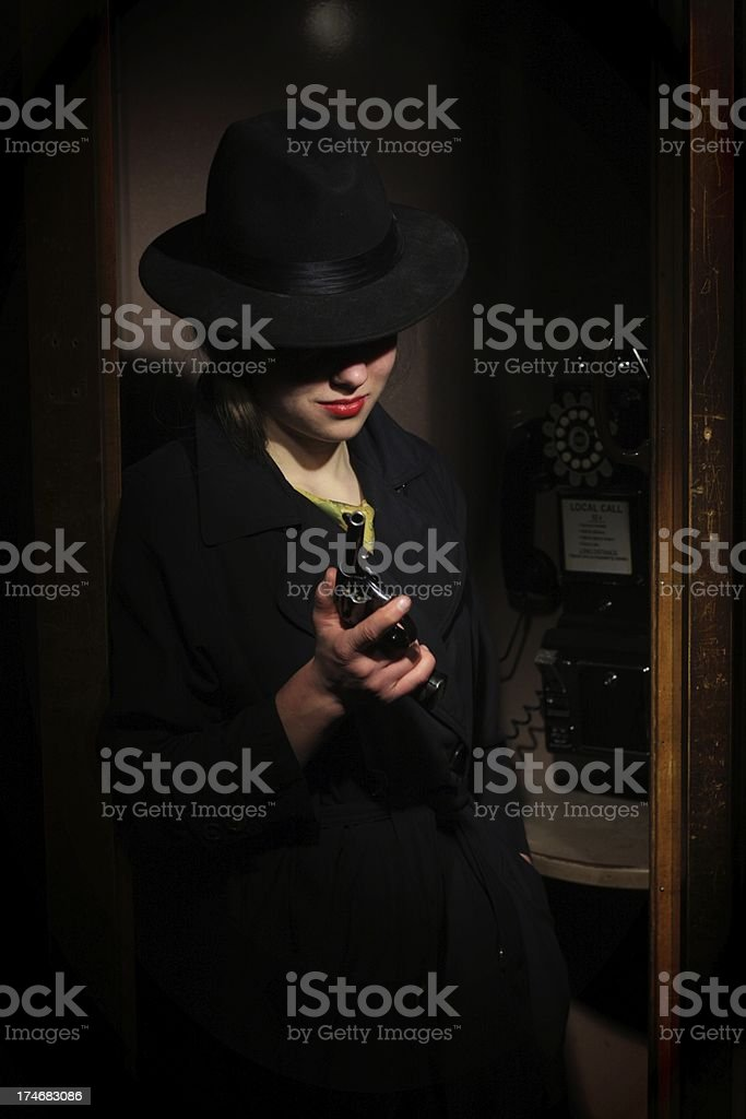 Armed And Dangerous royalty-free stock photo