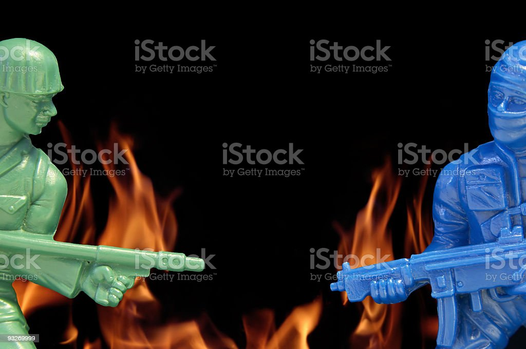 Armed Conflict #1 royalty-free stock photo