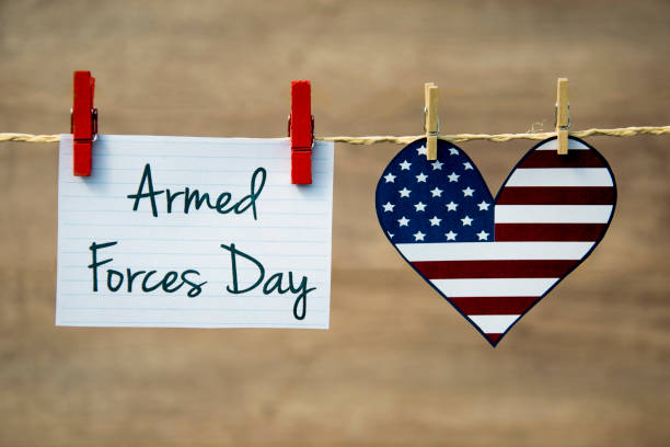 Armed Forces Day stock photo