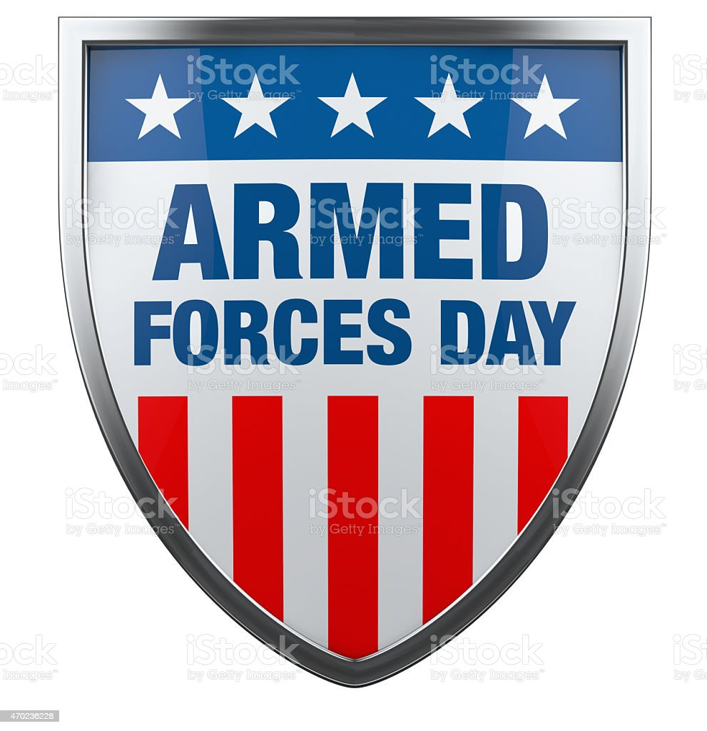 Armed Forces Day USA stock photo