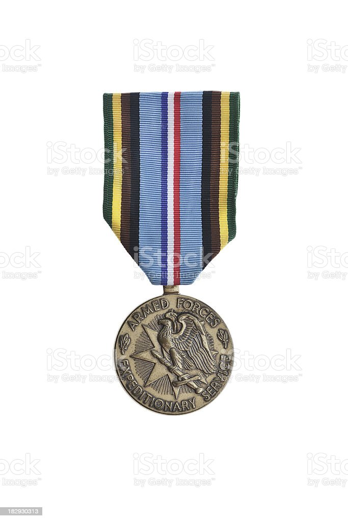Armed Forces Expeditionary Medal royalty-free stock photo
