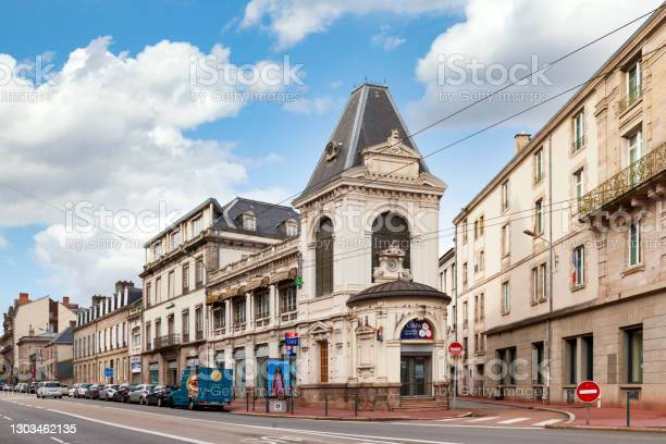 Armed Forces Information And Recruitment Center In Limoges Stock Photo - Download Image Now
