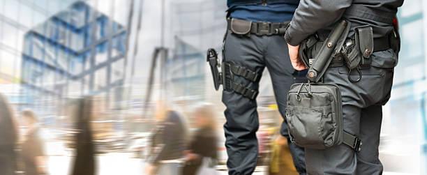 Armed Polizisten – Foto