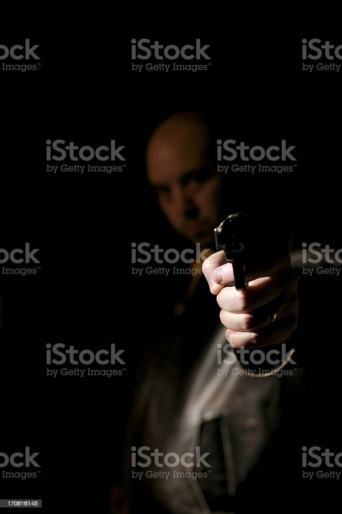 Armed Robbery royalty-free stock photo