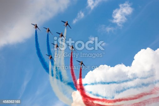 istock Armee de l'Air French air force display team RIAT 2010 458363165