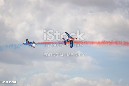 istock Armee de l'Air French air force display team RIAT 2010 458990869