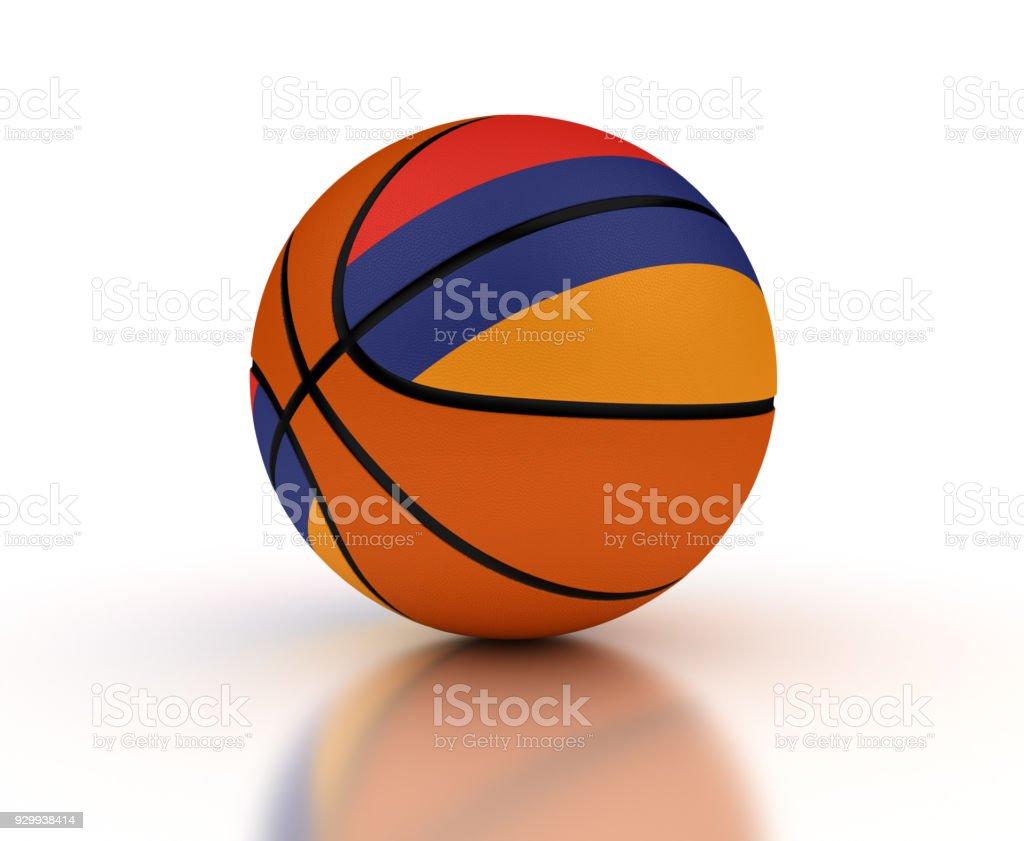 Armenian Basketball Team stock photo