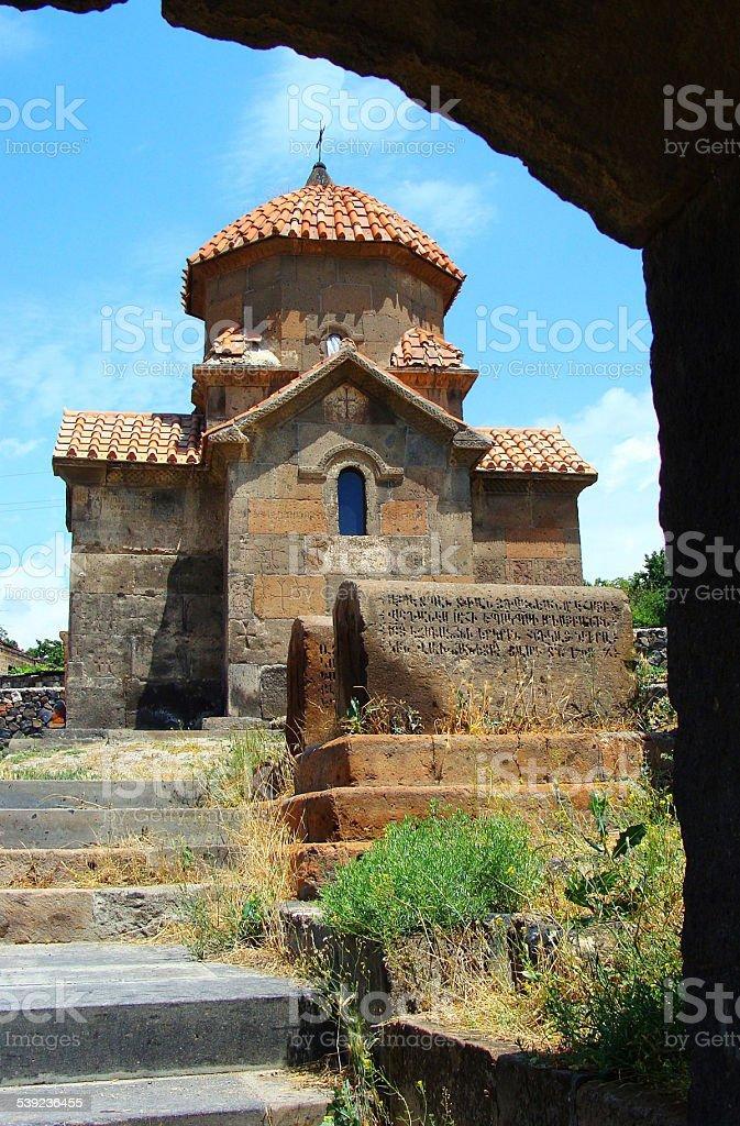 Iglesia armenia. foto de stock libre de derechos
