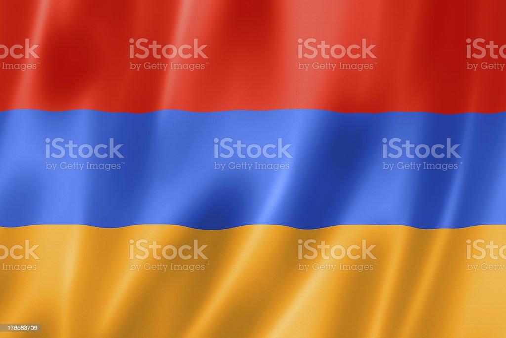 Armenian flag stock photo