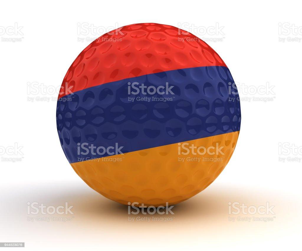 Armenian Golf Ball stock photo