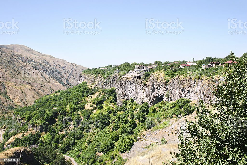 Armenian landscape royalty-free stock photo