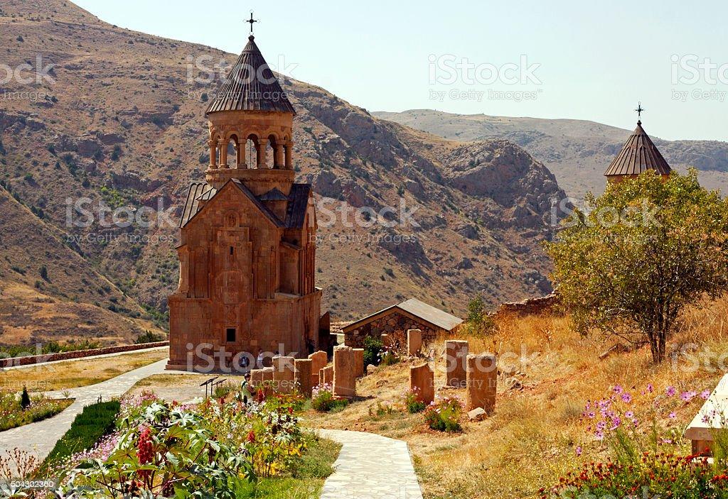 Armenian monastery. stock photo