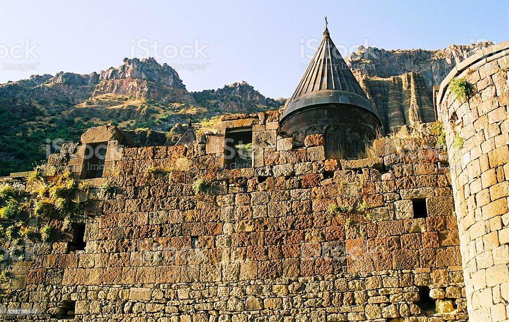 Monasterio de Armenia. foto de stock libre de derechos