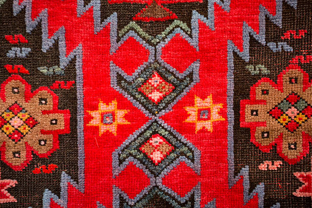 Armenian traditional carpets and rugs Armenian traditional patterns and ornaments on carpets and rugs armenian ethnicity stock pictures, royalty-free photos & images
