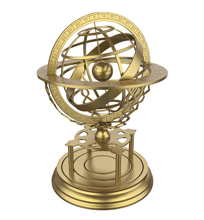 636605172 istock photo Armillary Sphere Isolated 1127680790