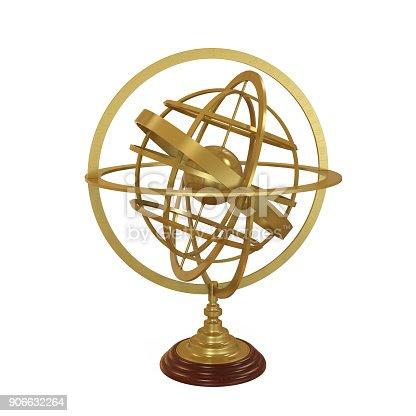 636605172istockphoto Armillary Sphere Isolated 906632264