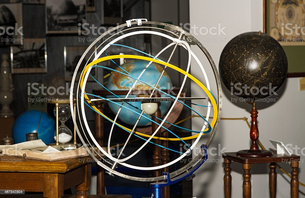 Armillary Sphere . stock photo