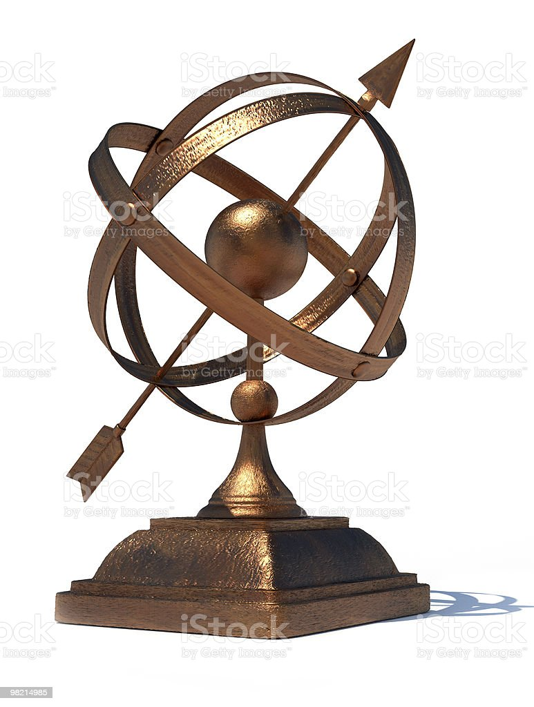 Armillary sphere royalty-free stock photo