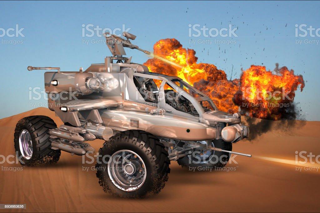 Armored Anti Terror Truck stock photo