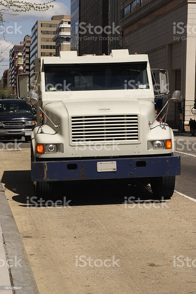 armored car front stock photo