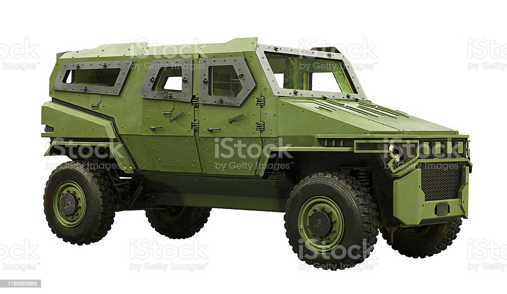Armored Car stock photo